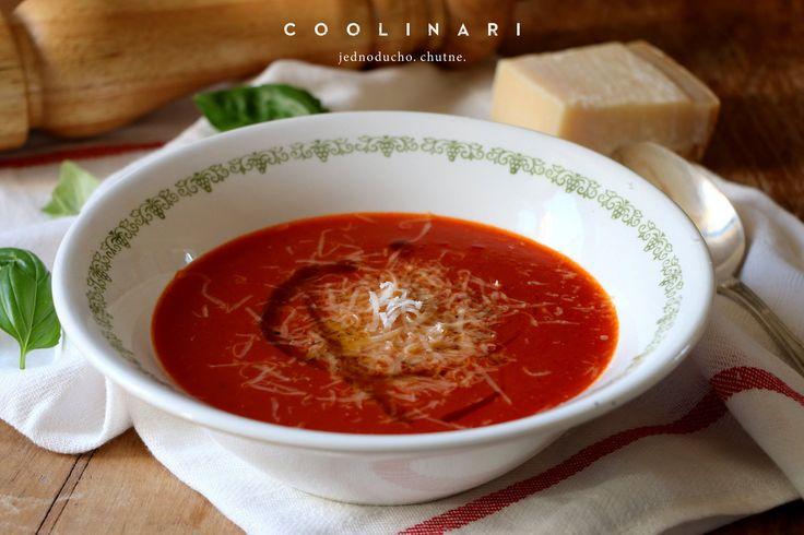 Rýchla paradajková polievka