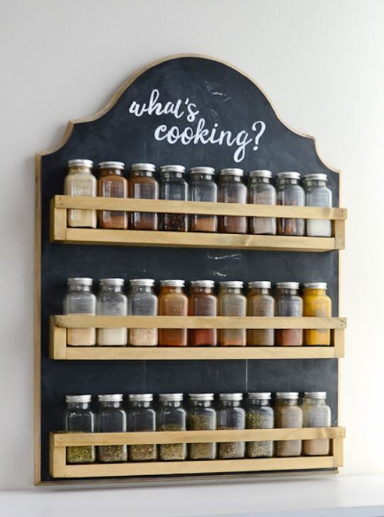 11 Cool Rack Ideas For Your Spices
