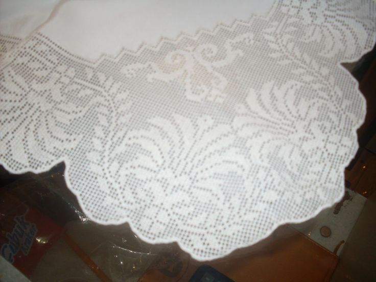 Needlework Silk tablecloth