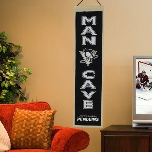 Pittsburgh Penguins Man Cave Banner