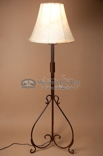 "Southwestern Wrought Iron Floor Lamp 61"""" (FL2)"
