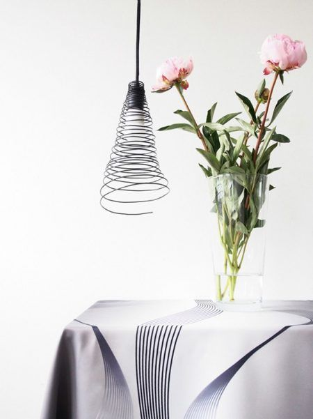 lampada-con-filo-alluminio-fai-da-te