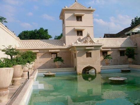 Taman Sari Water Castle, Jogjakarta Indonesia