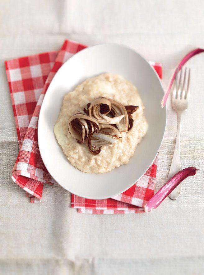 Recipe for Prosecco Risotto And Late Harvest Treviso Radicchio : La Cucina Italiana