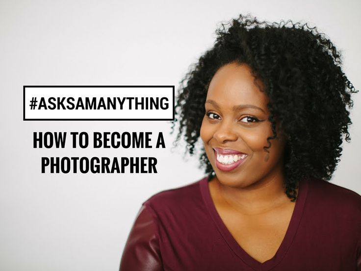 #AskSamAnything: How to become a photographer.