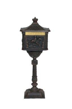 love the Victorian mailbox