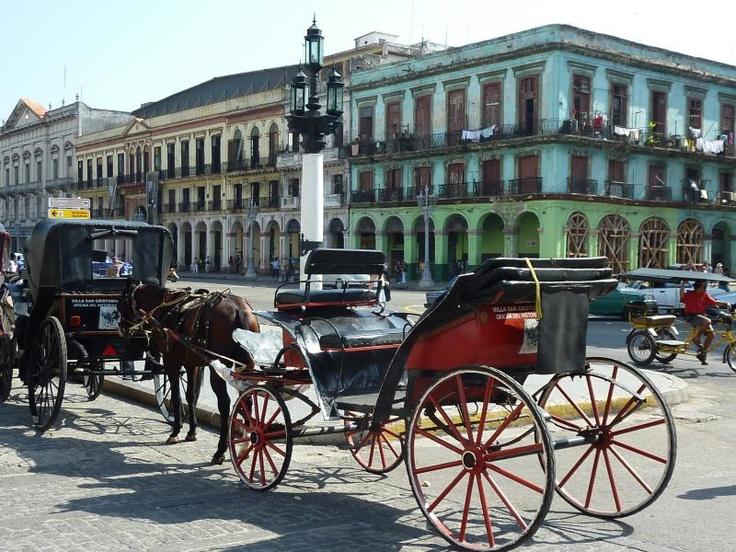 ユーラシア旅行社 自由旅行キューバのハバナ旧市街