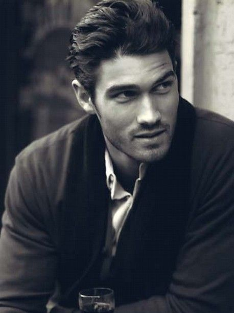 Francis Cadieux. I don't know how to say his last name, but I know what to say when I see his smolder. Ooh la la!!