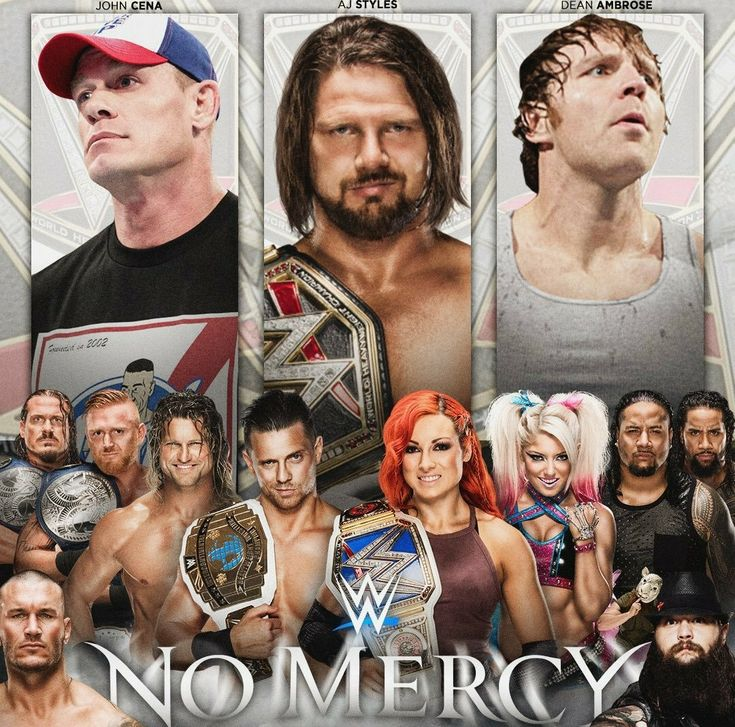 No Mercy PPV 0 WWE, NXT, UK & TNA PPV Wrestling