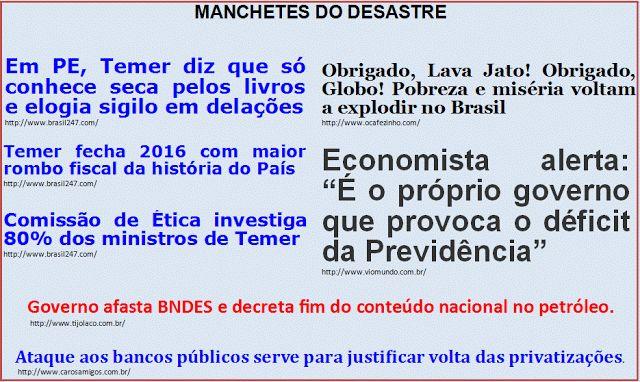 """Além d'Arena: Tributo aos idiotas do """"Fora Dilma!"""" XIII"""