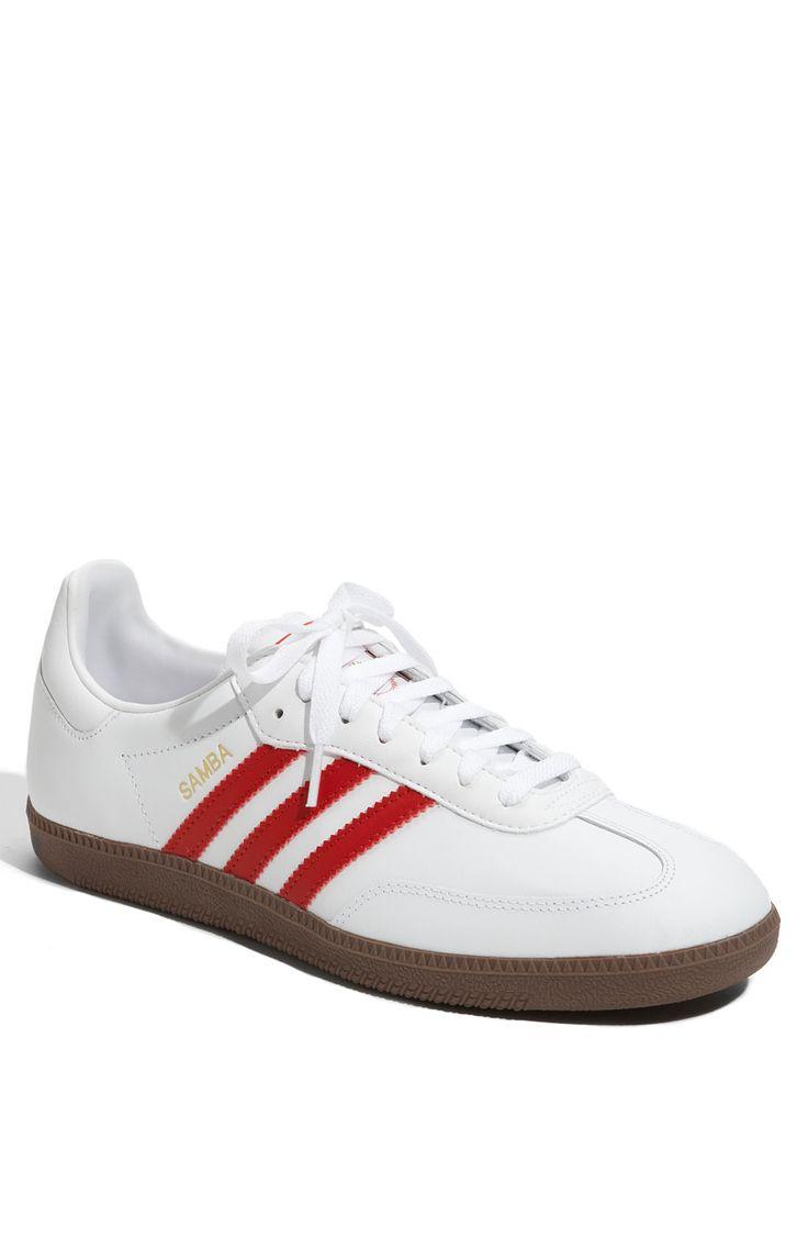 Adidas Samba (white/ red)