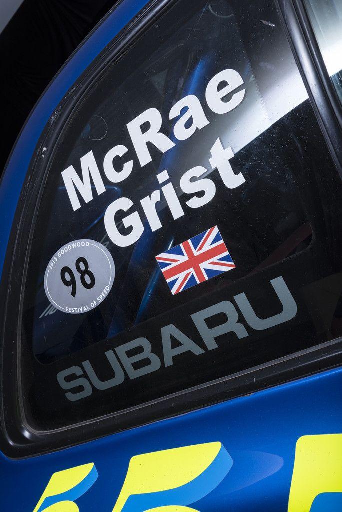 Colin McRae's 1998 Subaru Impreza WRX