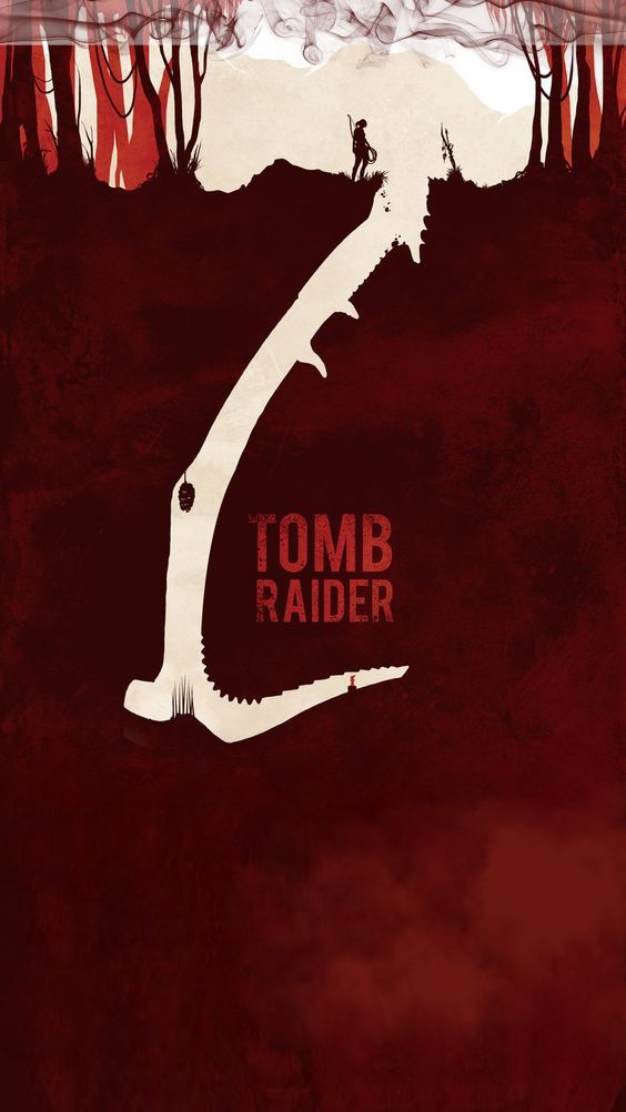 Lara Croft: Tomb Raider 2018 movie iPhone Wallpaper | Credit to the original art...