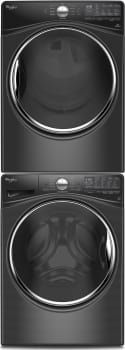 Whirlpool WFW92HEF 27 Inch 4.5 cu. ft. Front Load Washer with Load & Go, Adaptive Wash, Steam Clean, 12 Wash Cycles, 1,200 RPM, Smooth Wave Stainless Steel Basket, Precision Dispense and ENERGY STAR Rated