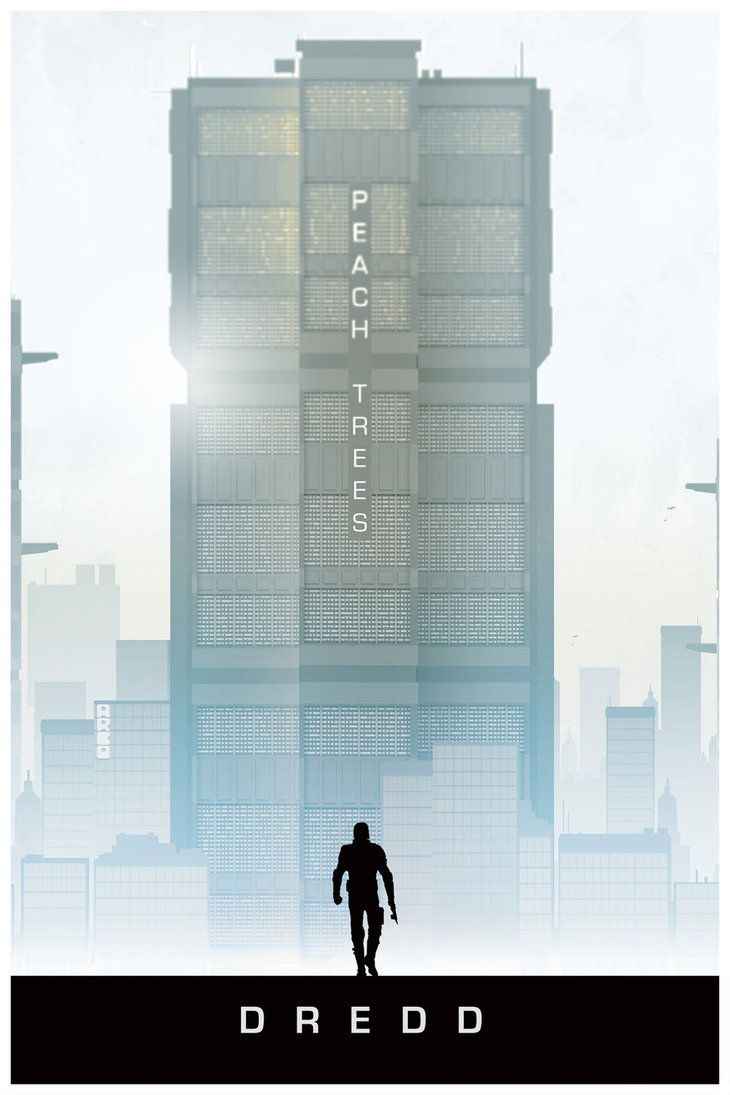 Dredd - movie poster - Matt Ferguson