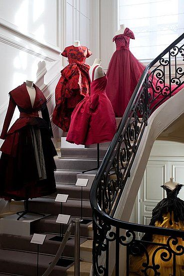 Dior in Paris...The interior finishings is stunning!