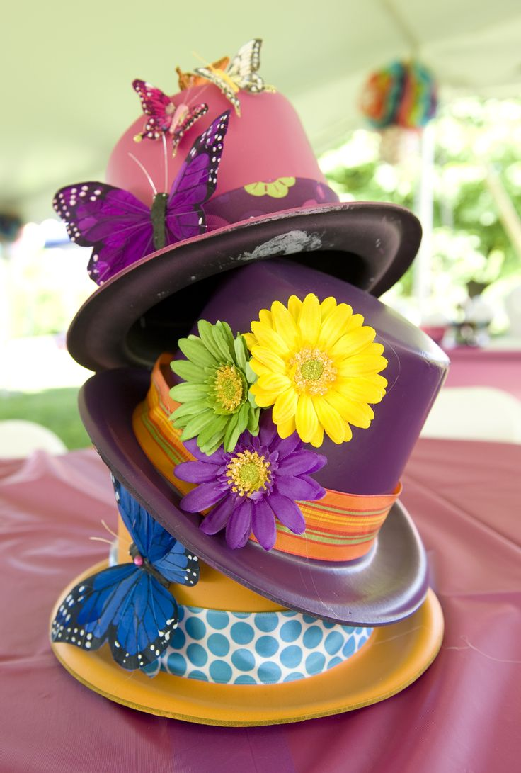 Mad hatter tea party decoration ideas - Lund S Magical Mad Hatter S Event