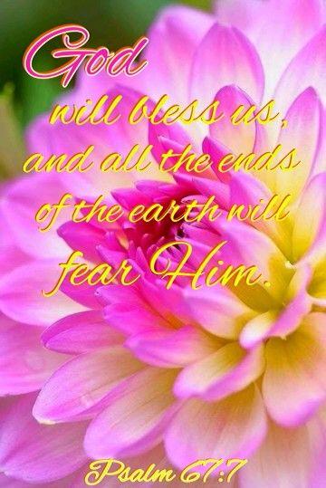 Psalm 67:7