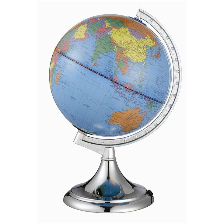 Click World Globe Touch Lamp