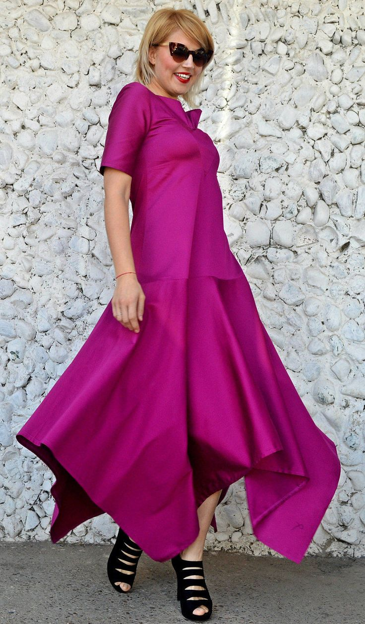 Just launched! Purple Flared Dress, Purple Maxi Dress, Asymmetrical Cotton Dress, Extravagant Flared Maxi Dress TDK239, RISE https://www.etsy.com/listing/515802263/purple-flared-dress-purple-maxi-dress?utm_campaign=crowdfire&utm_content=crowdfire&utm_medium=social&utm_source=pinterest