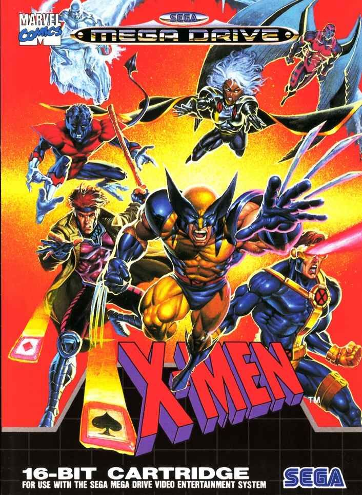X-Men for Sega Mega Drive...still one of the best superhero games of all time!
