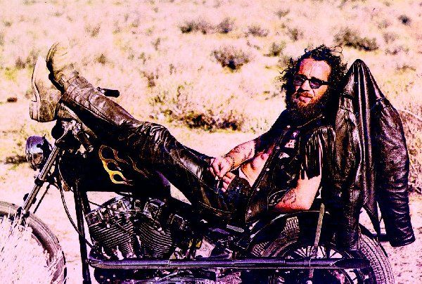 Hell's Angel Sonny Barger - lives in Arizona CAVE CREEK