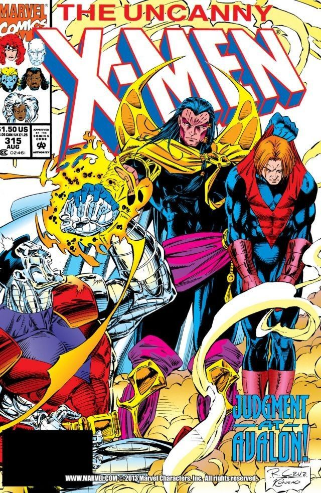 Uncanny X Men 1963 2011 315 X Men Comic Covers Marvel Comics