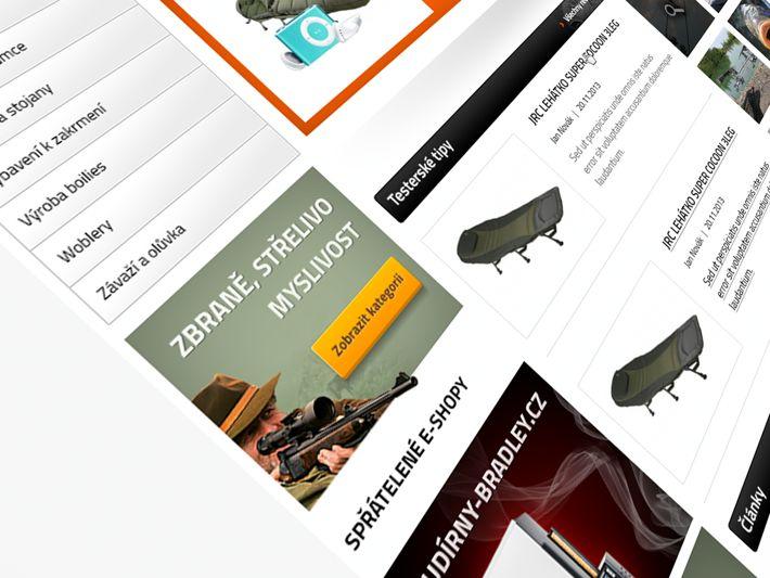 Kamofish.cz by Visualcreative.cz , via Behance