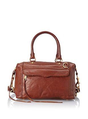 60% OFF Rebecca Minkoff Women's MAB Mini Whipstitch Shoulder Bag (Brown)