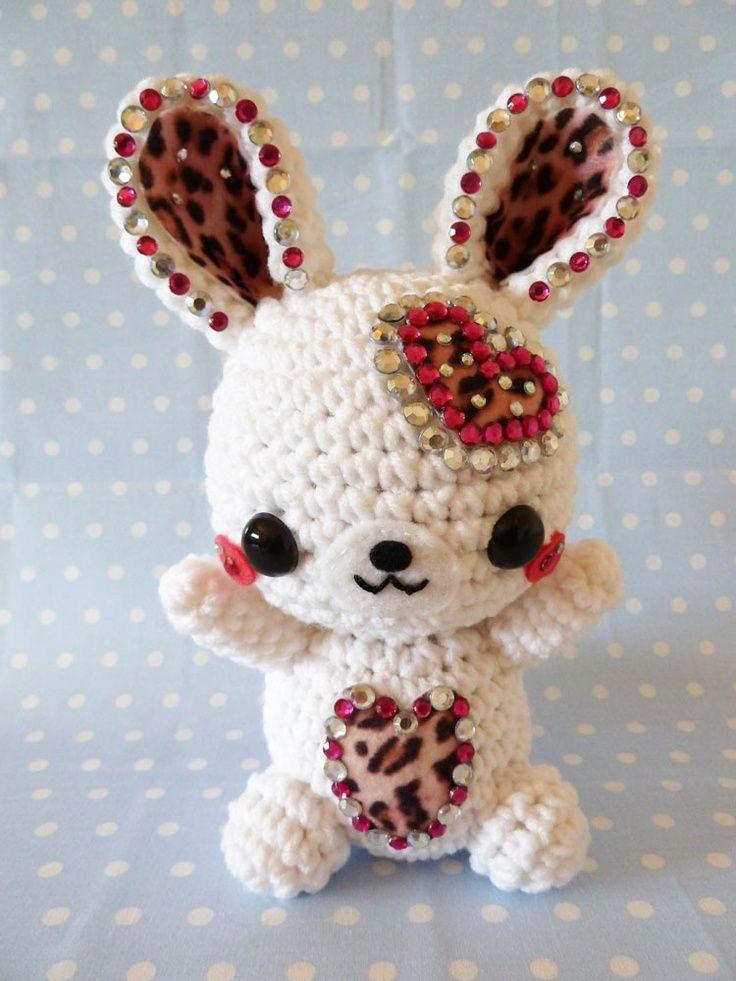 Cute Rabbit Amigurumi!.   Amigurumi   Pinterest   Amigurumi, Rabbit and Crochet