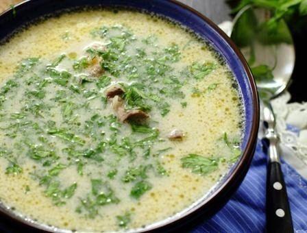 Суп с куриными потрохами и грибами | uDuba.com