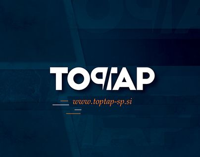 """Check out new work on my @Behance portfolio: """"TOPTAP // corporate identity"""" http://on.be.net/1gJx5g8"""