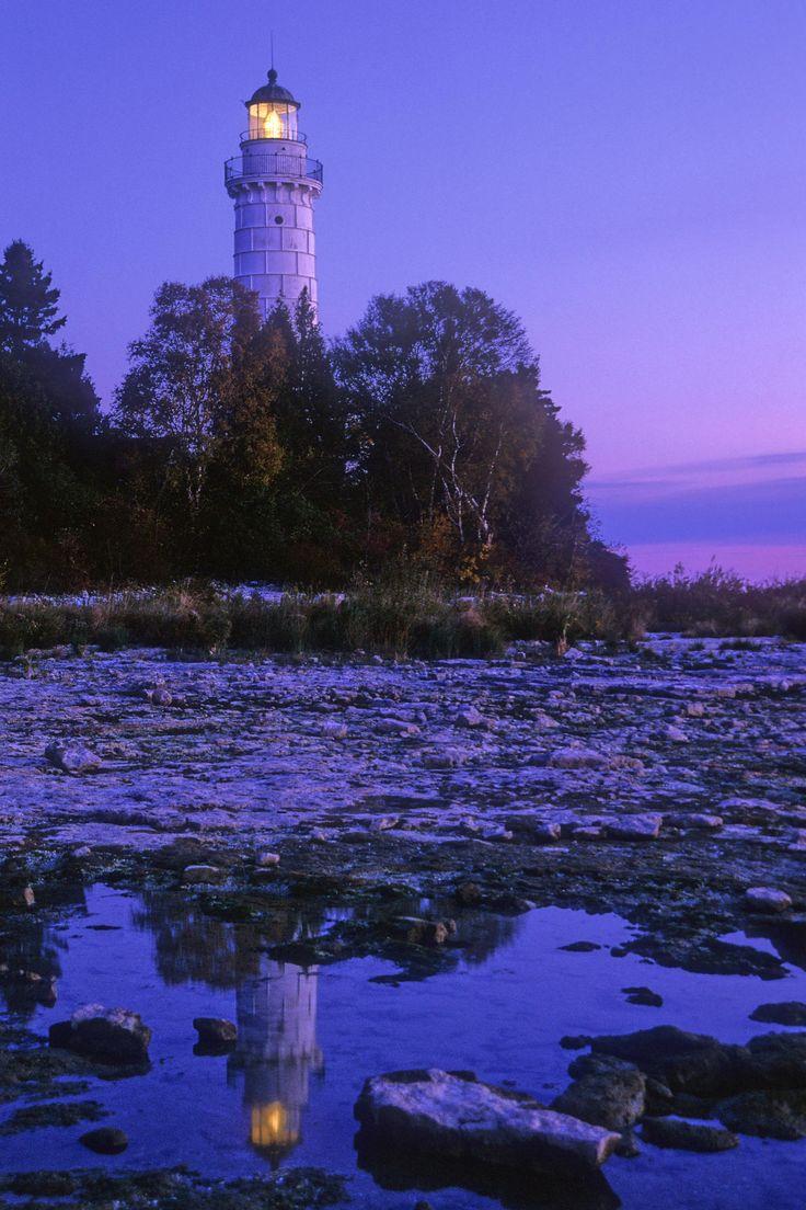 Cana Island lighthouse, Wisconsin | ...Lighthouses ...