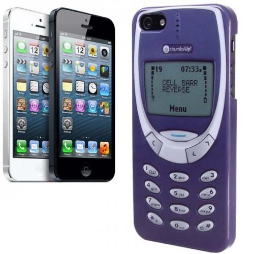Funda de iPhone 5 estilo Nokia 3310 - Tienda de regalos originales QueLoVendan.com