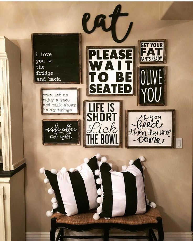 Kitchen Decor Themes Deco In 2020 Dining Room Wall Farmhouse Rooms