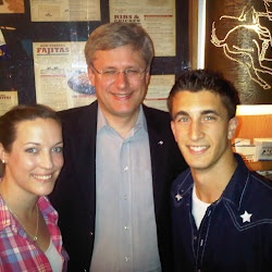 Stephen Harper dropped by our Ottawa East location. I always knew he was a cowboy at heart.