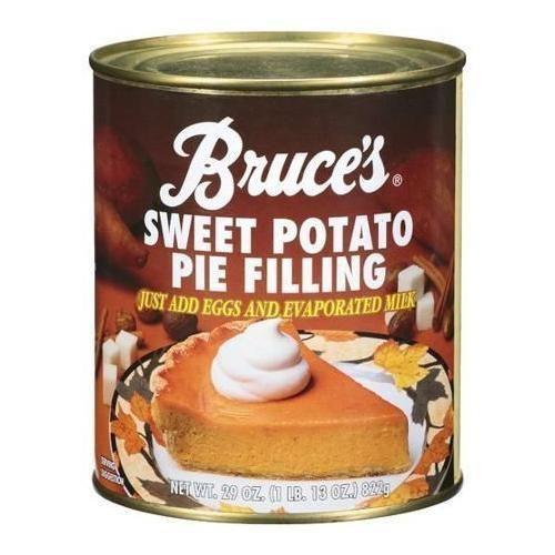Bruce's Sweet Potato Pie Filling (12x29 OZ) G240-ECV250092