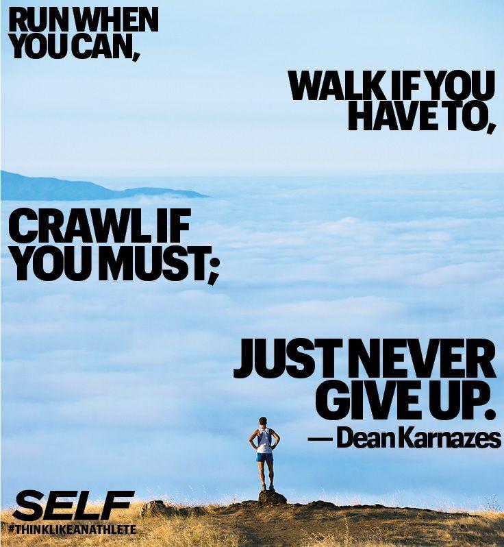 Never give up. #motivation