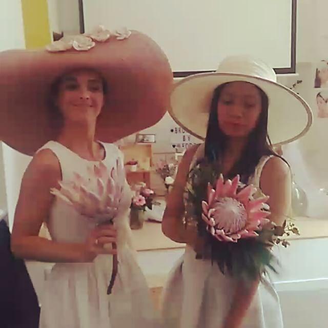 Nina's horse race hats