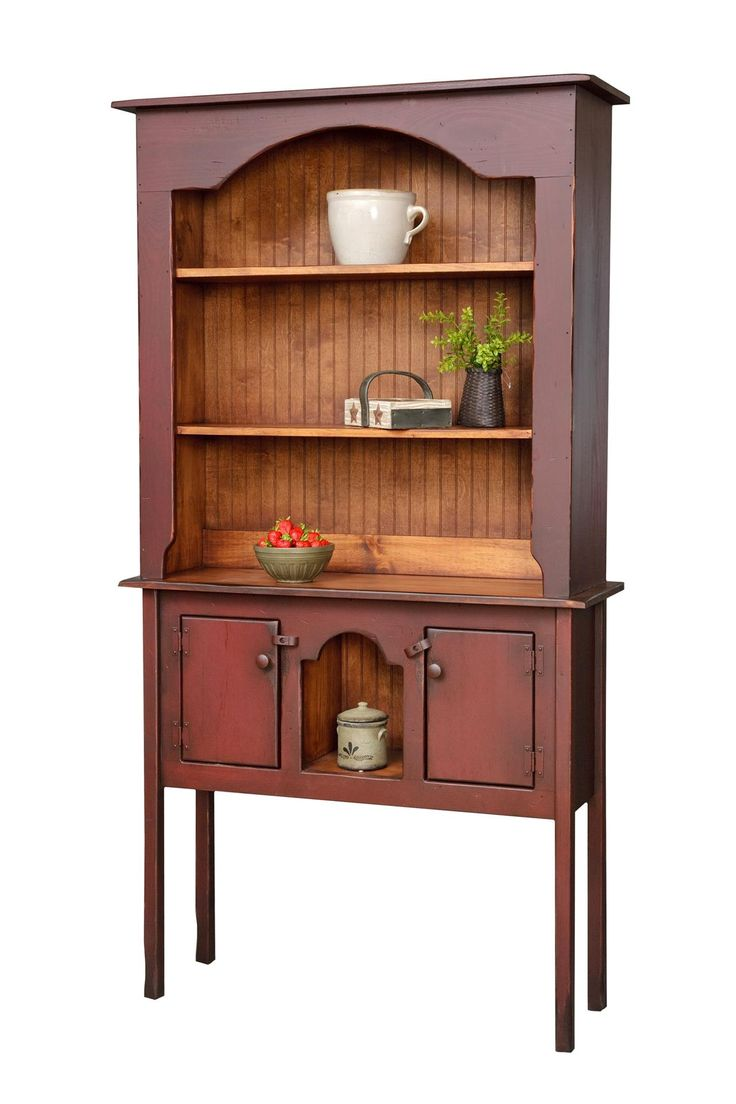 Colonial Huntboard Hutch Pine never looked so fine! The Colonial Huntboard Hutch takes pine furniture to the maximum level of country style goodness!