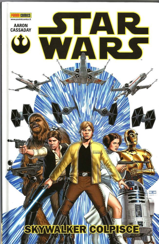 STAR WARS VOLUME 1 - SKYWALKER COLPISCE  ED. PANINI COMICS