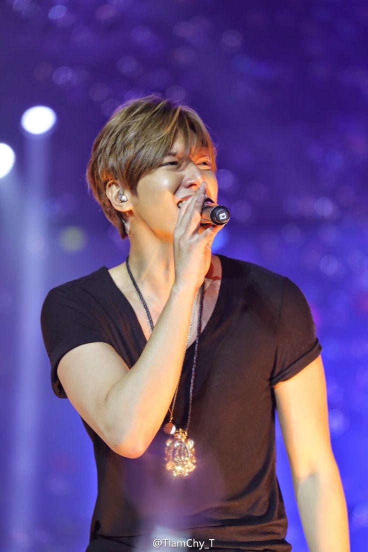 Lee Min Ho - LIVE in Hong Kong - 21.03.2015