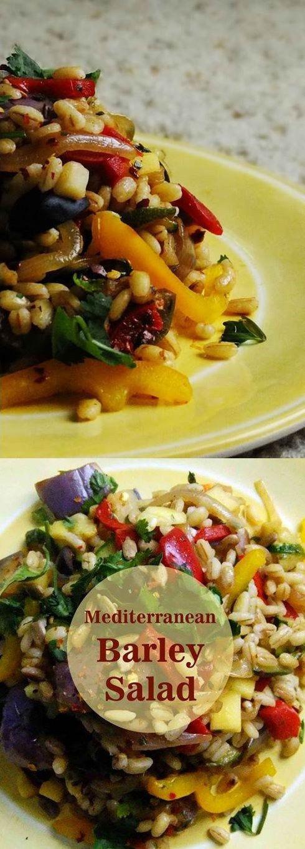 How to Make Mediterranean Barley Salad Diet Recipe