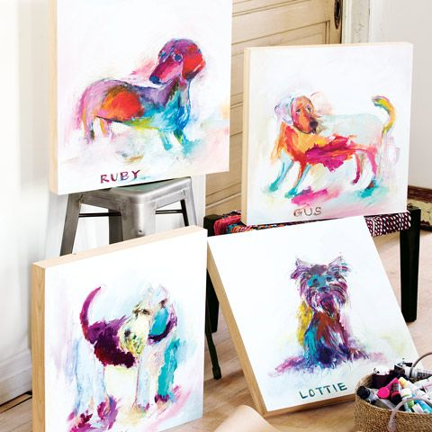 Personalized Pup Painting