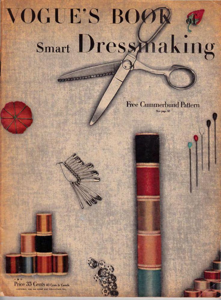 Vogue's book of smart dressmaking 1948