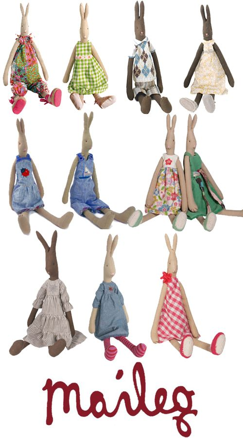 Sisters Guild: Wednesday Woo: Maileg Bunny Rabbit Family