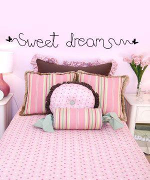 Wall sticker - αυτοκολλητα τοιχου - Sweet dreams - www.ab-one.gr