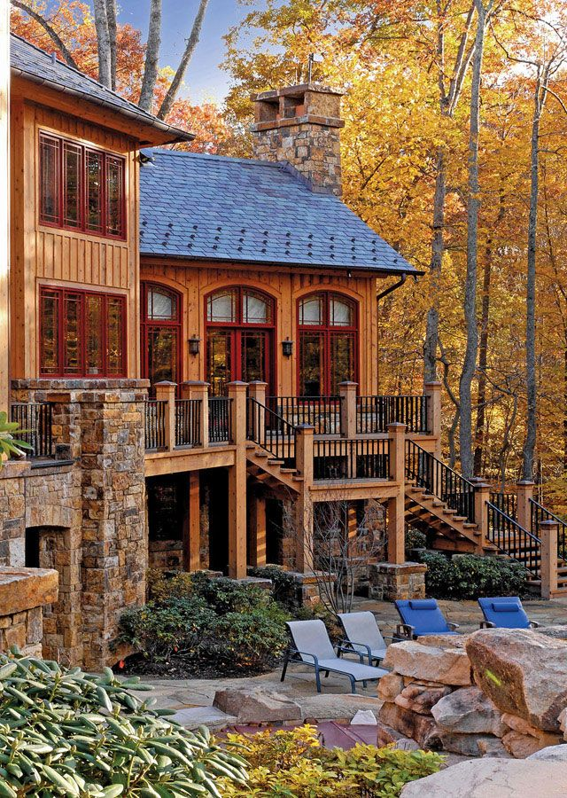 Cabin Homes, Log Homes, Timber Frames, Timber Frame Houses, Rustic Homes,  Mountain Homes, Cabin Fever, Exterior Design, Future House