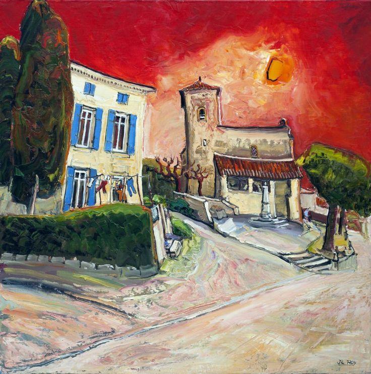 Dompierre sur Charente II, 31.5x31.5