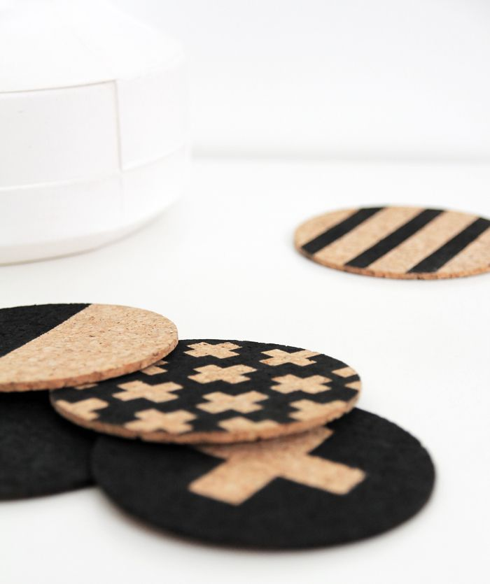 diy paint coasters